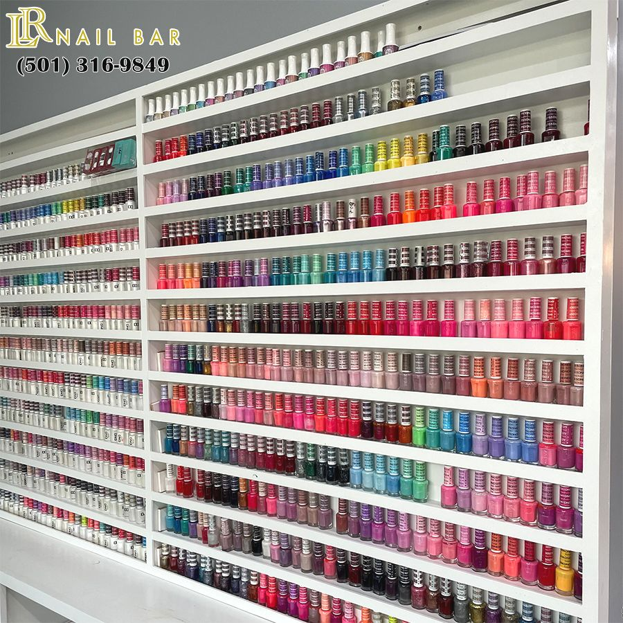 You'll be sure to find your perfect nail designs in Little Rock Nails Bar
